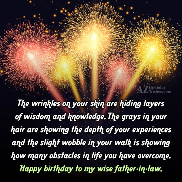 The wrinkles on your skin are hiding layers of… - AZBirthdayWishes.com