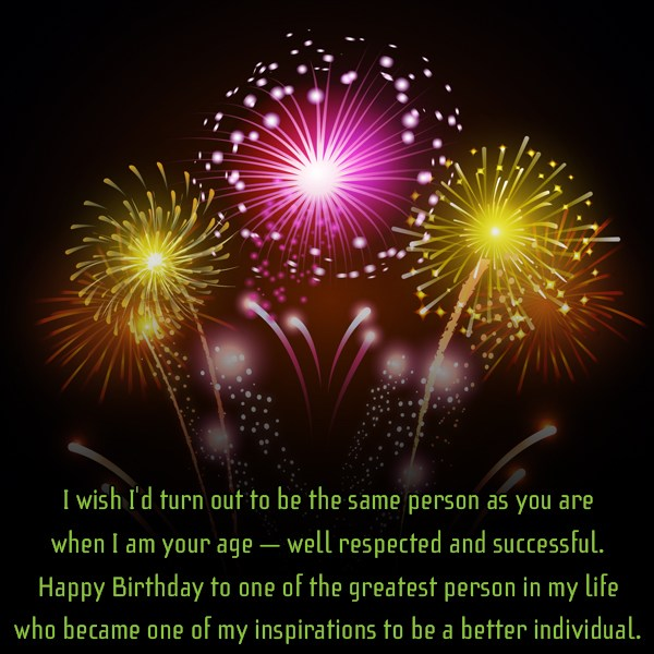 I wish I d turn out to be the… - AZBirthdayWishes.com