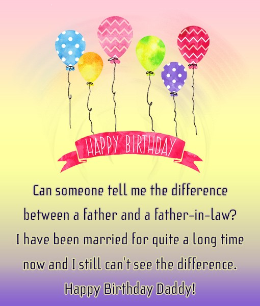 Can someone tell me the difference between a father… - AZBirthdayWishes.com