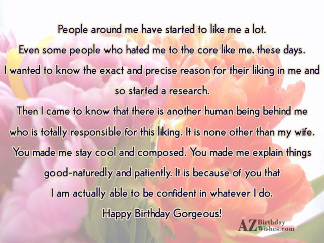 People around me have started to like… - AZBirthdayWishes.com