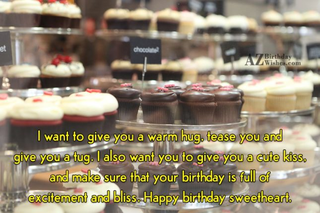 I want to give you a warm… - AZBirthdayWishes.com