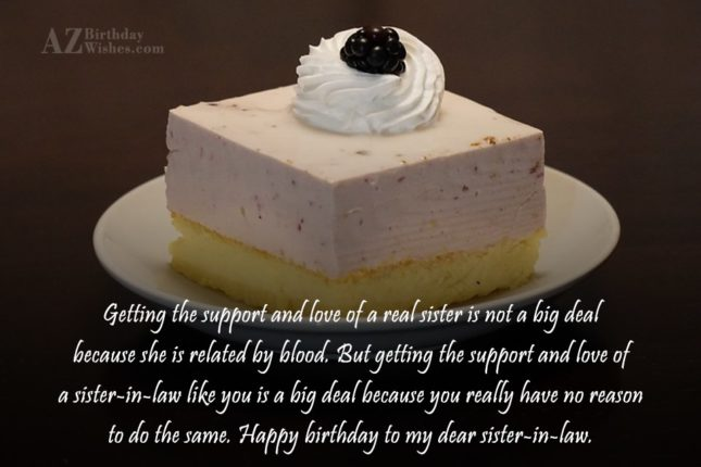 Getting the support and love of a… - AZBirthdayWishes.com