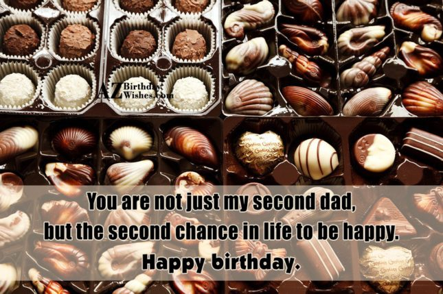 You are not just my second dad,… - AZBirthdayWishes.com