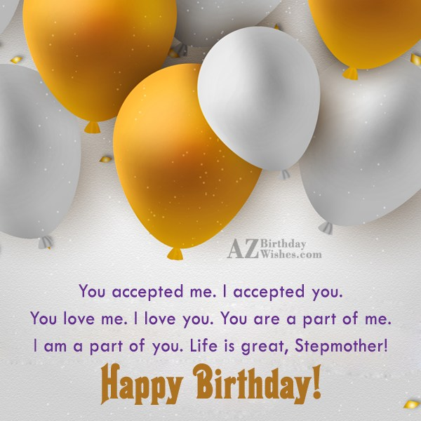 You accepted me. I accepted you. You… - AZBirthdayWishes.com