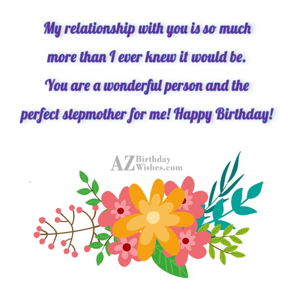 My relationship with you is so much… - AZBirthdayWishes.com