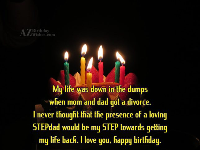 My life was down in the dumps… - AZBirthdayWishes.com