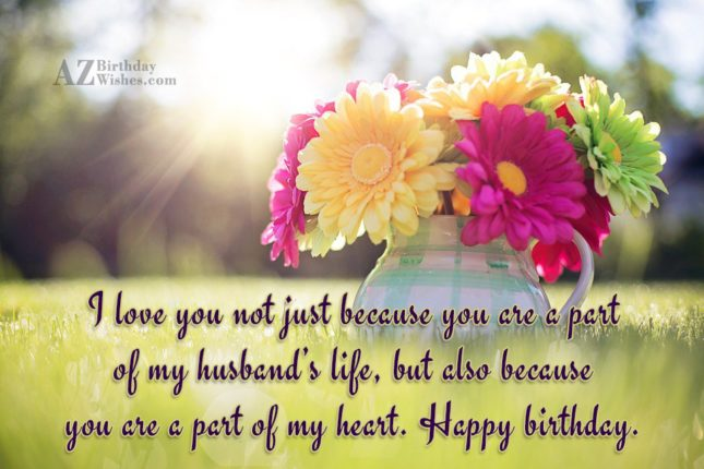 I love you not just because you… - AZBirthdayWishes.com