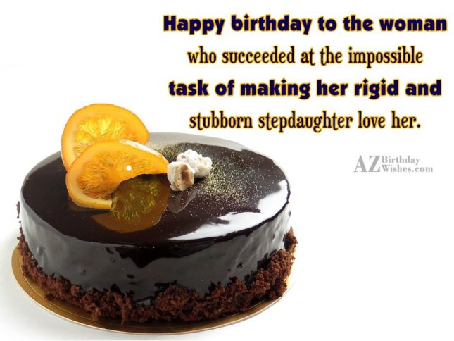 Happy birthday to the woman who succeeded… - AZBirthdayWishes.com