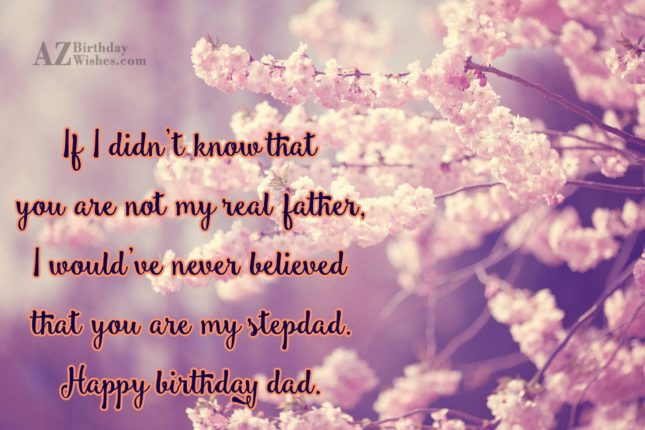 If I didn't know that you are… - AZBirthdayWishes.com