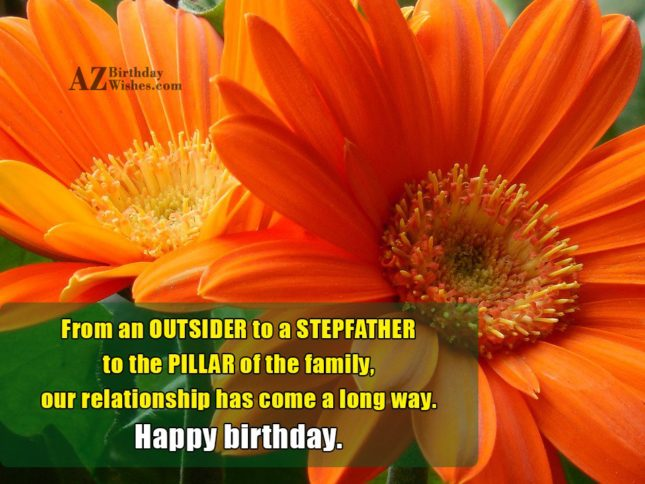 From an OUTSIDER to a STEPFATHER to… - AZBirthdayWishes.com