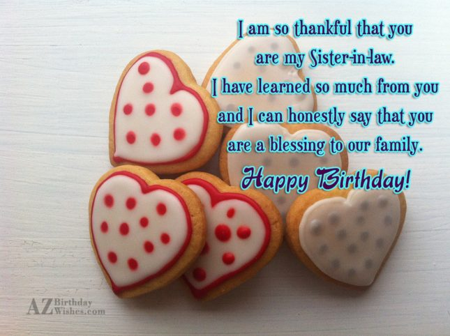 I am so thankful that youare my… - AZBirthdayWishes.com