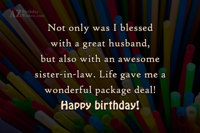 Not only was I blessed with a… - AZBirthdayWishes.com