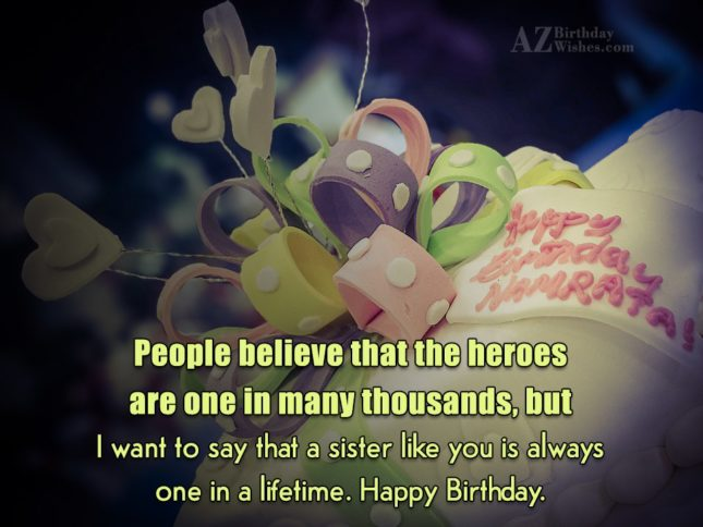 People believe that the heroes are one… - AZBirthdayWishes.com