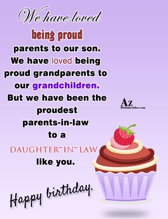 We have loved being proud parents to our son… - AZBirthdayWishes.com