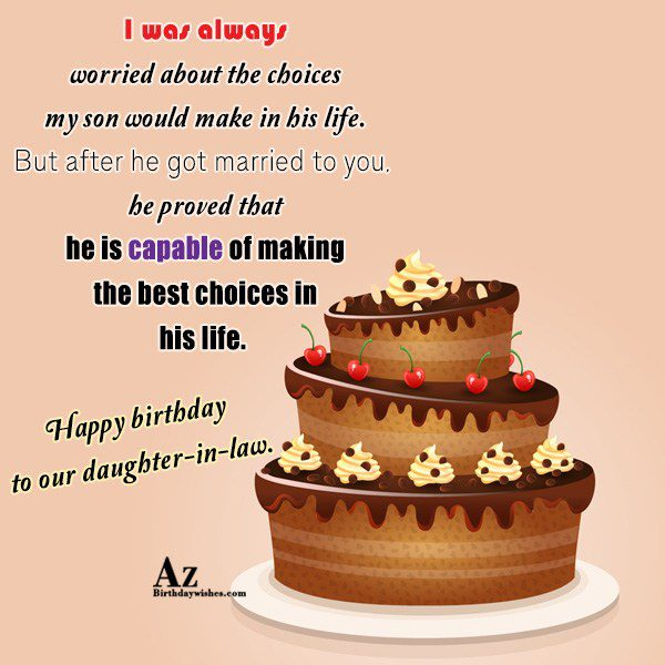 I was always worried about the choices my son… - AZBirthdayWishes.com