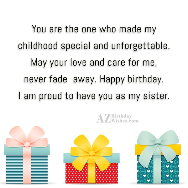 You are the one who made my… - AZBirthdayWishes.com