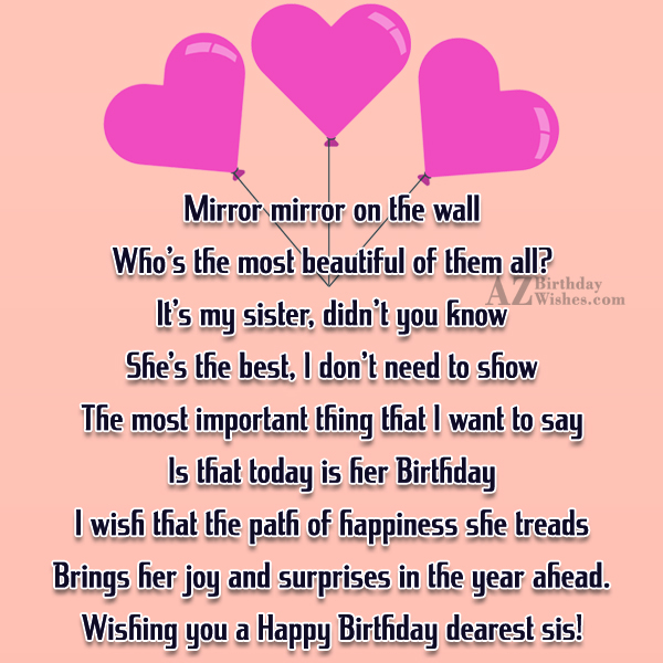 Mirror mirror on the wallWho's the most… - AZBirthdayWishes.com