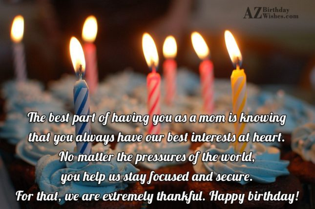 The best part of having you as… - AZBirthdayWishes.com