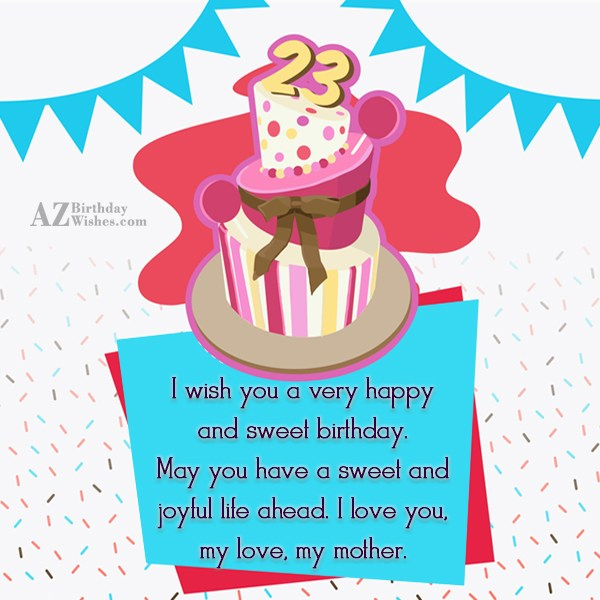 I wish you a very happy and… - AZBirthdayWishes.com