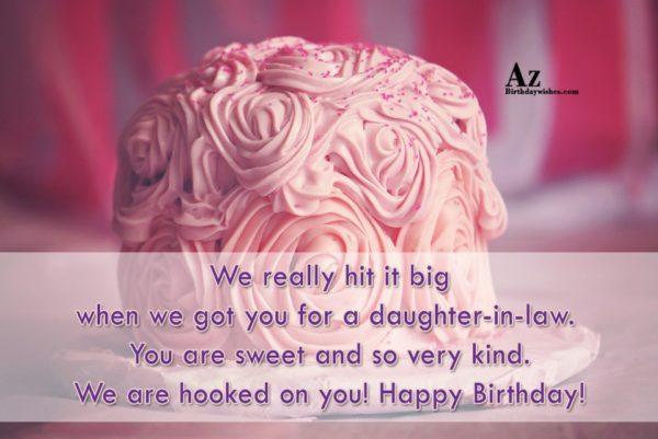 We really hit it big when we got you… - AZBirthdayWishes.com