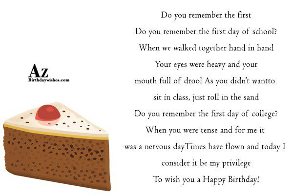 Do you remember the first Do you remember the… - AZBirthdayWishes.com
