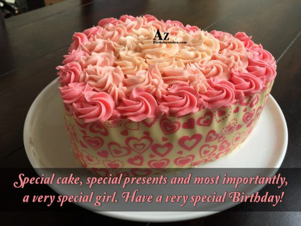 Special cake special presents and most importantly a very… - AZBirthdayWishes.com