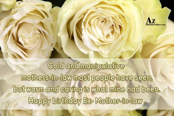 Cold and manipulative mothers-in-law most people have seen but… - AZBirthdayWishes.com