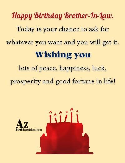 Wishing you lots of peace, happiness, luck, prosperity… - AZBirthdayWishes.com
