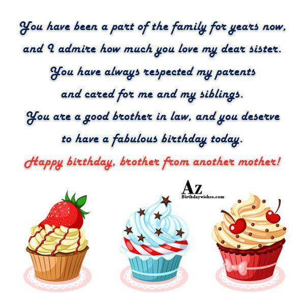 You have been a part of the family for… - AZBirthdayWishes.com