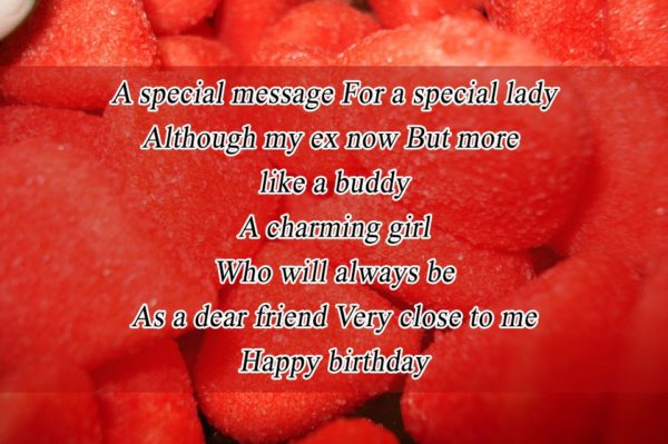 Happy Birthday Wishes Sms For Ex Girlfriend Page