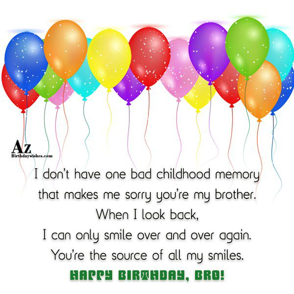 I don t have one bad childhood memory that… - AZBirthdayWishes.com