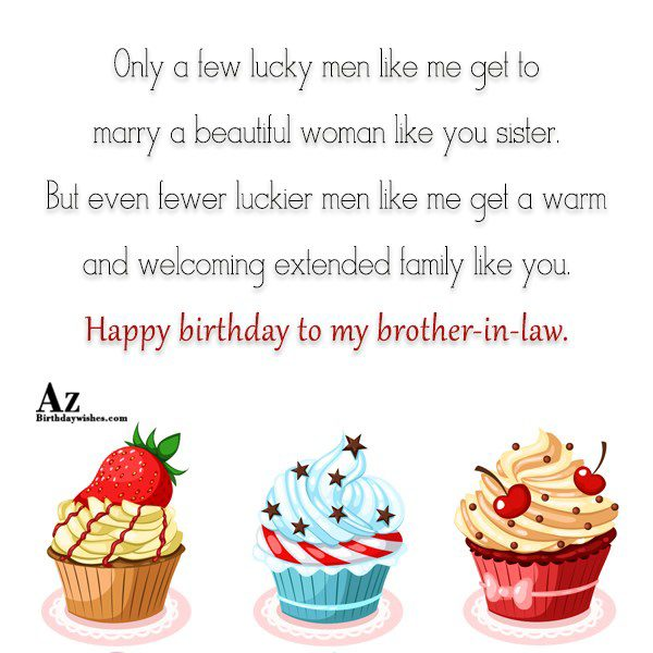 Only a few lucky men like me get to… - AZBirthdayWishes.com
