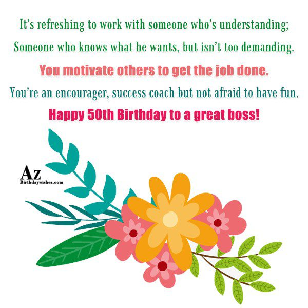 It's refreshing to work with someone who's… - AZBirthdayWishes.com