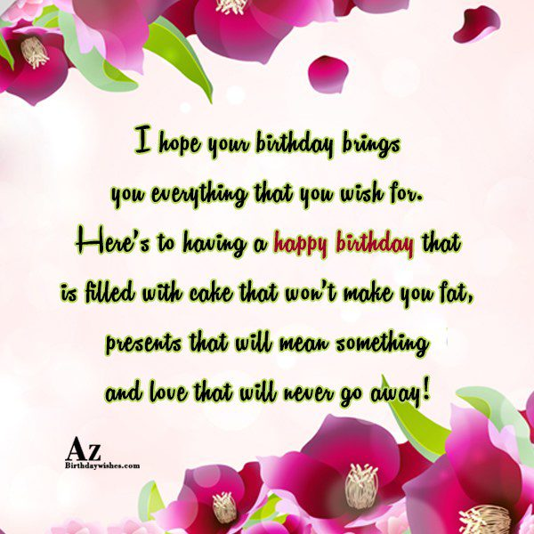 Happy birthday to a person that keeps my life… - AZBirthdayWishes.com