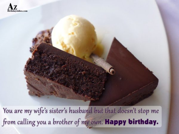 You are my wife s sister s husband but… - AZBirthdayWishes.com