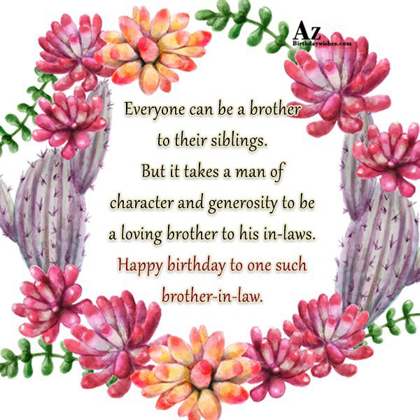 Everyone can be a brother to their siblings But… - AZBirthdayWishes.com