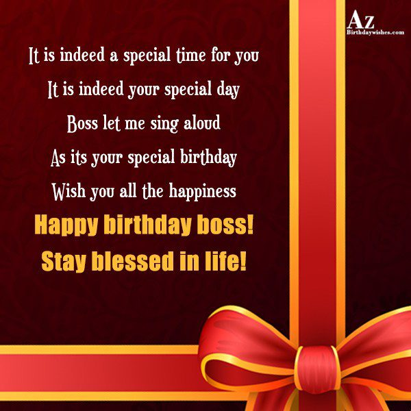 It is indeed a special time for you … - AZBirthdayWishes.com