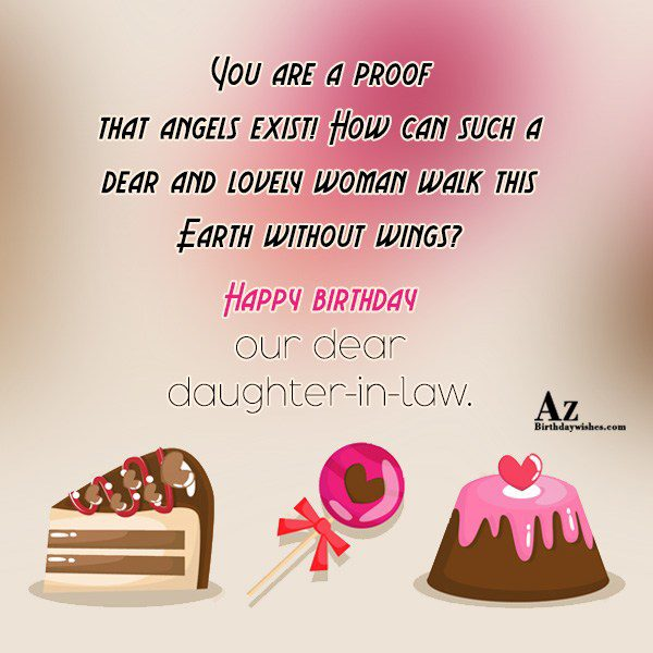 You are a proof that angels exist How can… - AZBirthdayWishes.com