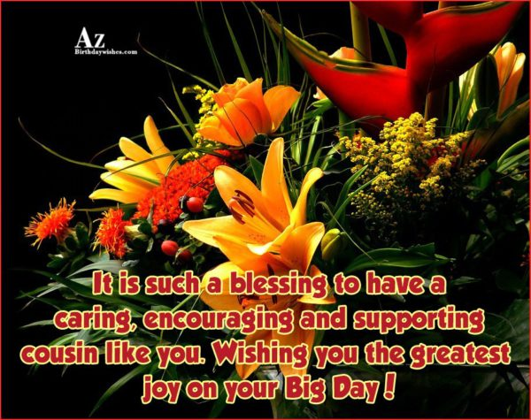 It is such a blessing to have a caring… - AZBirthdayWishes.com