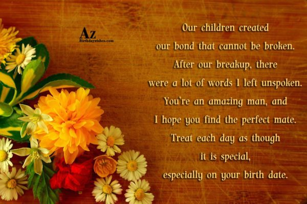 Our children created our bond that cannot be broken… - AZBirthdayWishes.com