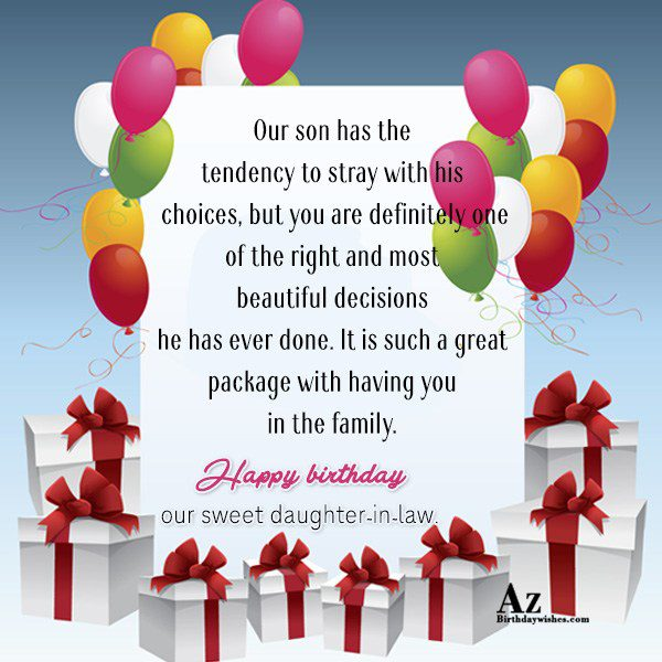 Our son has the tendency to stray with his… - AZBirthdayWishes.com