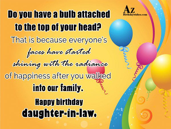 Do you have a bulb attached to the top… - AZBirthdayWishes.com