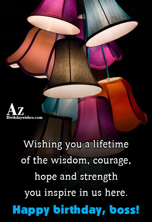 Wishing you a lifetime of the wisdom… - AZBirthdayWishes.com