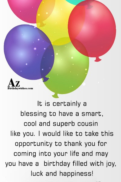 It is certainly a blessing to have a smart… - AZBirthdayWishes.com