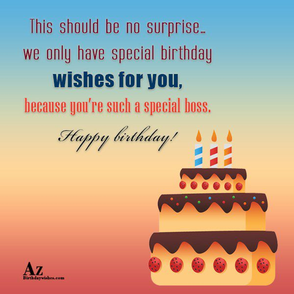 This should be no surprise… - AZBirthdayWishes.com