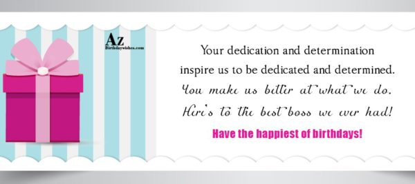 Your dedication and determination inspire… - AZBirthdayWishes.com