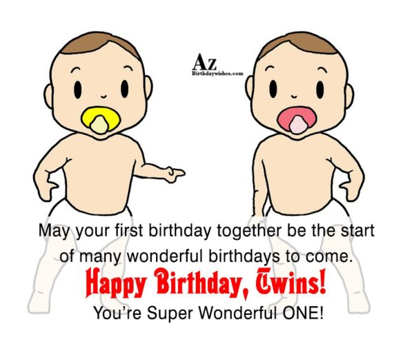 May your first birthday together be the start… - AZBirthdayWishes.com
