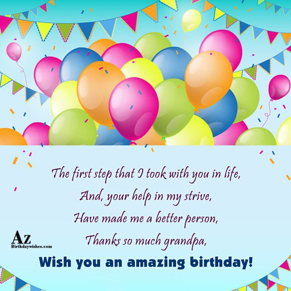 The first step that I took with you in… - AZBirthdayWishes.com