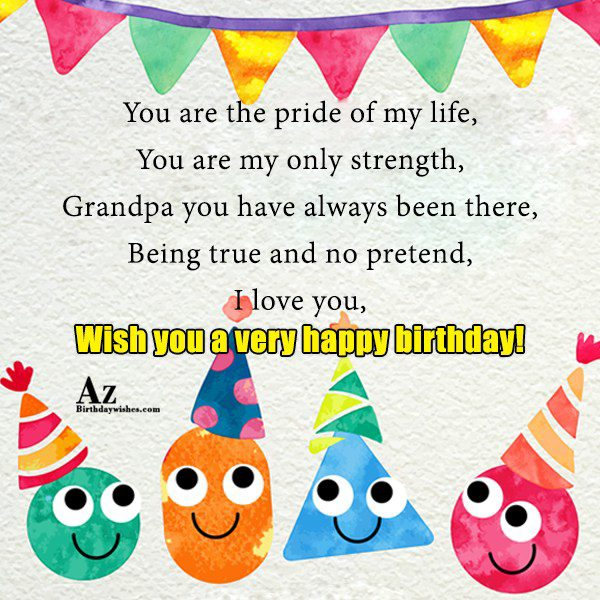 You are the pride of my life You are… - AZBirthdayWishes.com