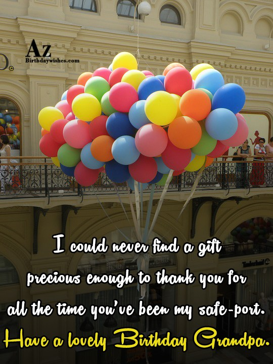 I could never find a gift precious enough to… - AZBirthdayWishes.com